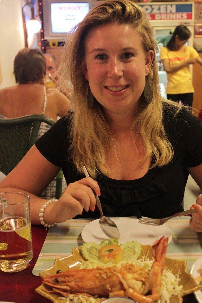 Fishfood in Thailand food cravings op reis foodblog Foodinista
