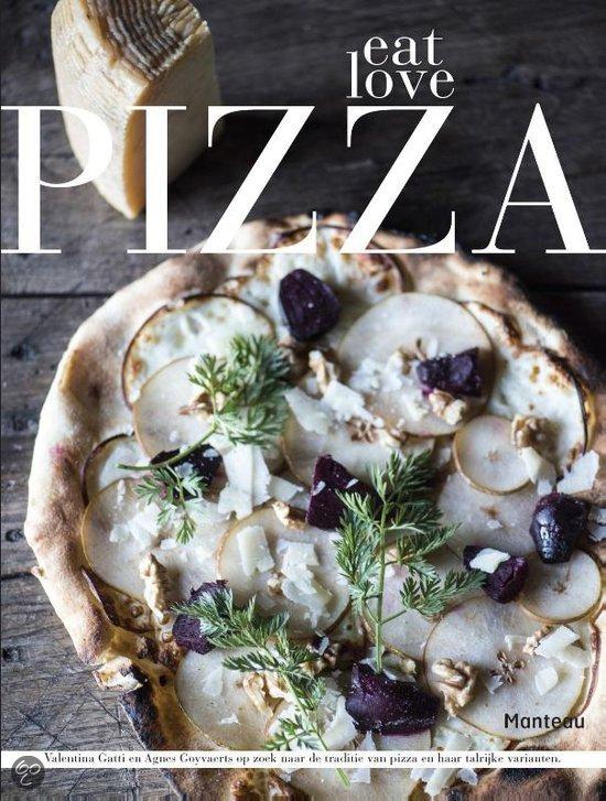 Italiaanse kookboeken Eat Love Pizza kookboek tip Foodblog Foodinista