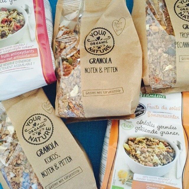 Granola favorieten van Ekoplaza foodblog Foodinista