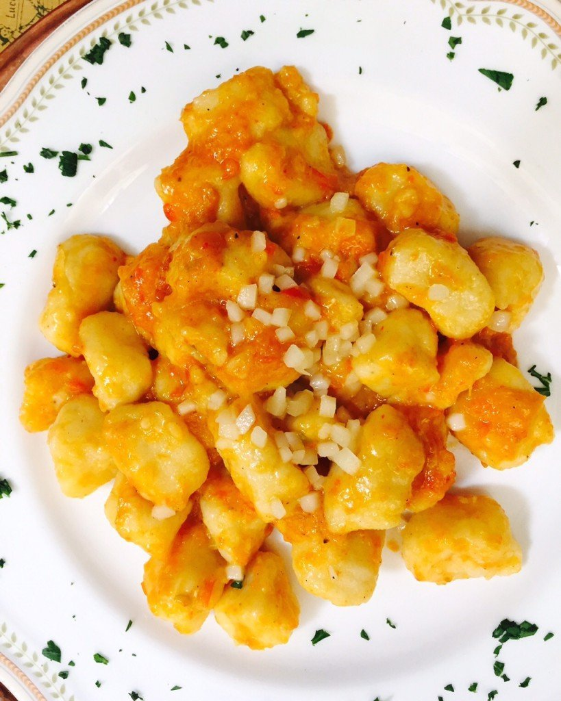 Beste Gnocchi ooi in Lucca Foodblog Foodinista