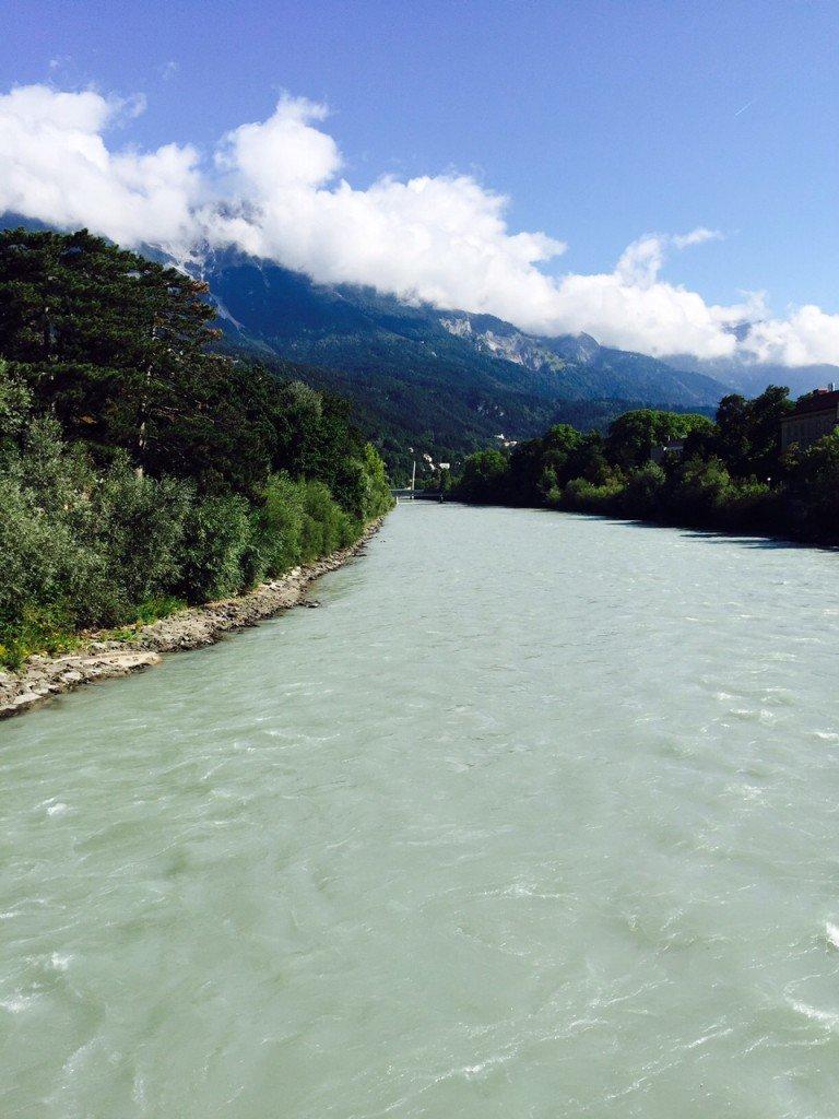 Uitzicht Innsbruck Tirol foodblog Foodinista reist