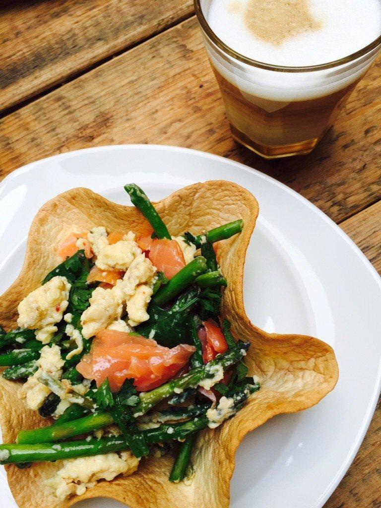 Ontbijt taco recept foodblog Foodinista taco schelpen maken