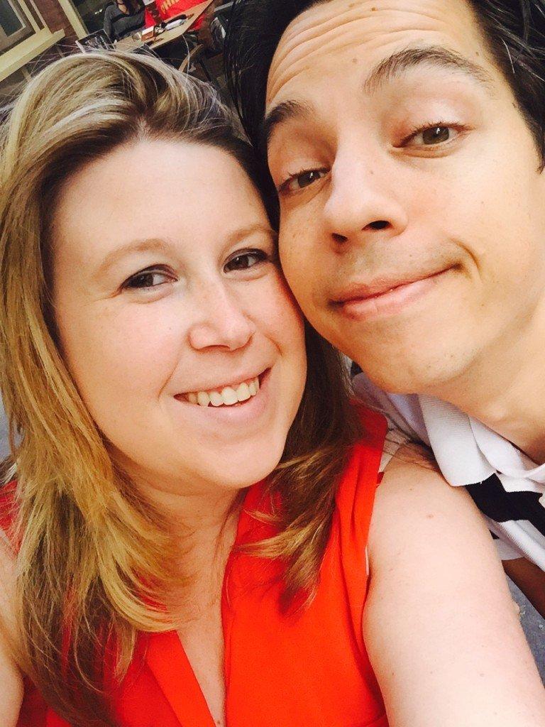 Selfietijd foodblogger daphne van foodinista en lief