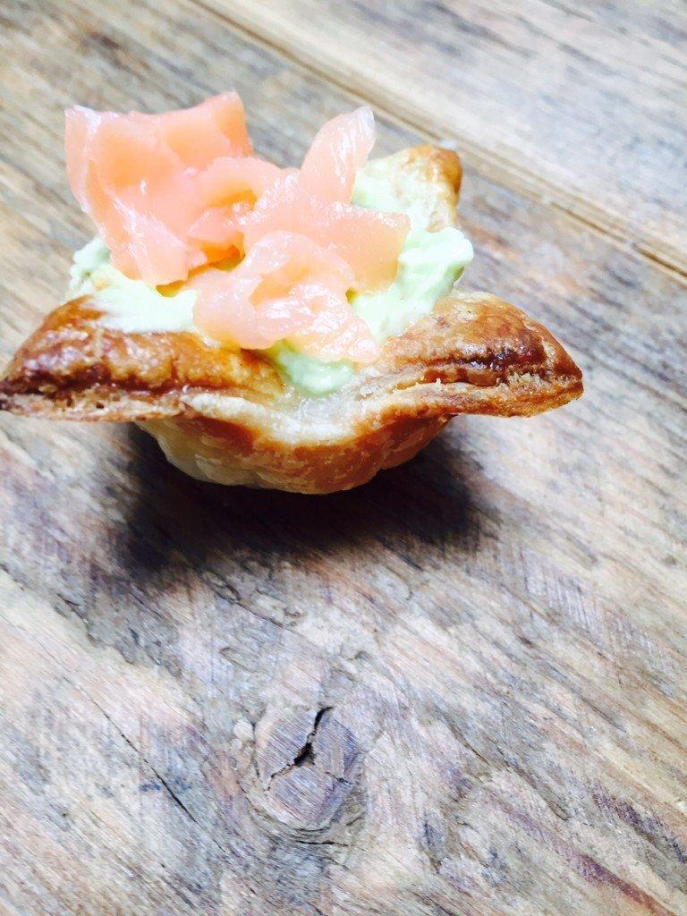 Zalmavocadohapjes foodblog Foodinista recept september eetdagboek