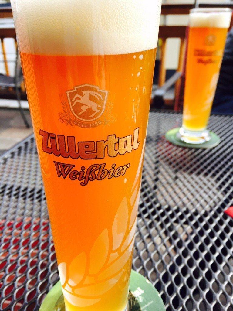 Zillertal weizen bier foodblog Foodinista in Tirol
