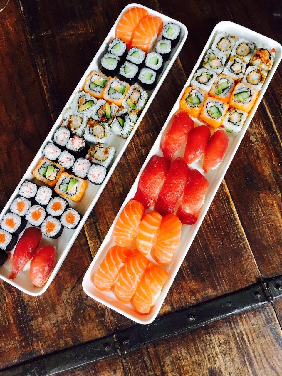 Sushi Foodblog Foodinista Augustus Eetdagboek