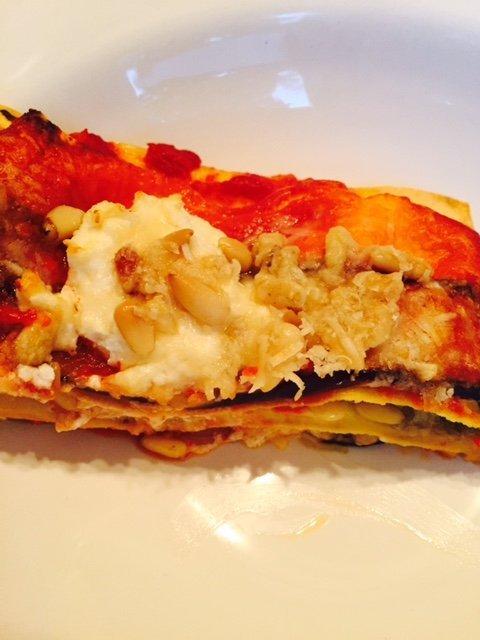 aubergine lasagne recept foodblog Foodinista