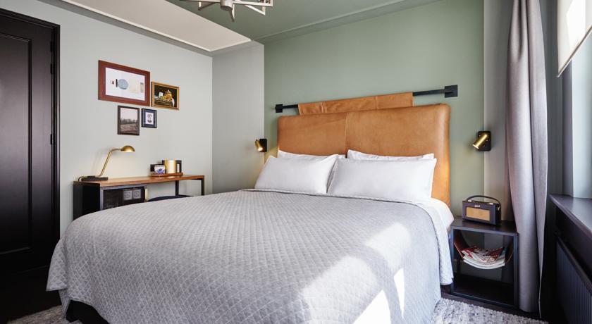 Kamer Hoxton Hotel favoriet Hotel Amsterdam Hip en trendy Blogger Foodinista