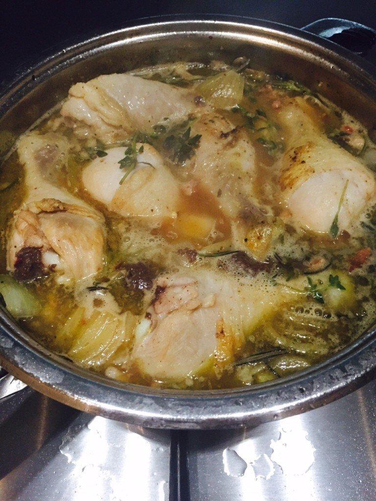 Kip in bier stoven stoofschotel recept foodblog Foodinista