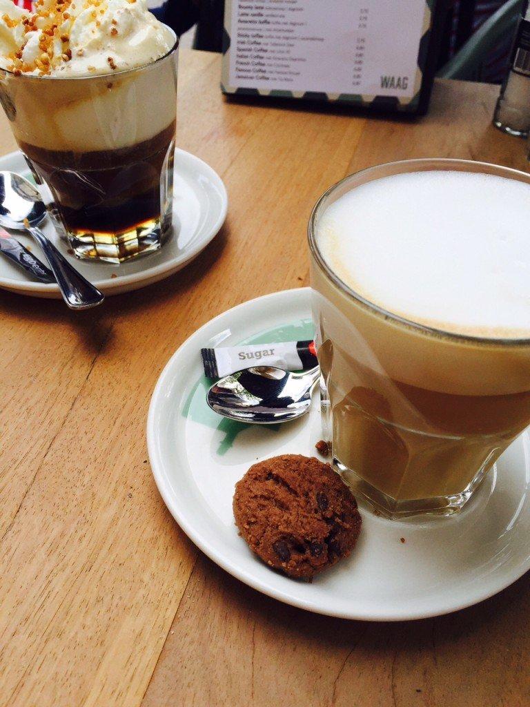 Traktatie koffie Heavenly Hazel en Caramel Restaurant De Waag