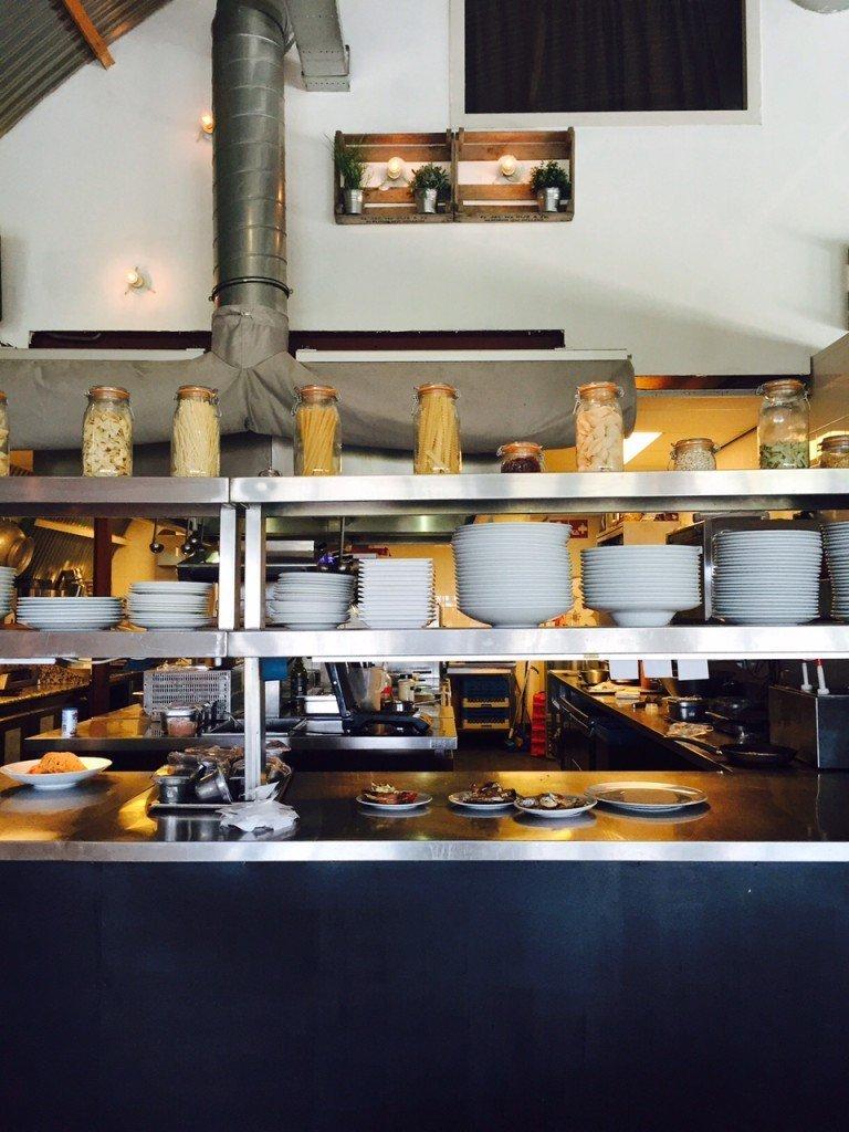 Open keuken restaurant Haddock foodblog Foodinista