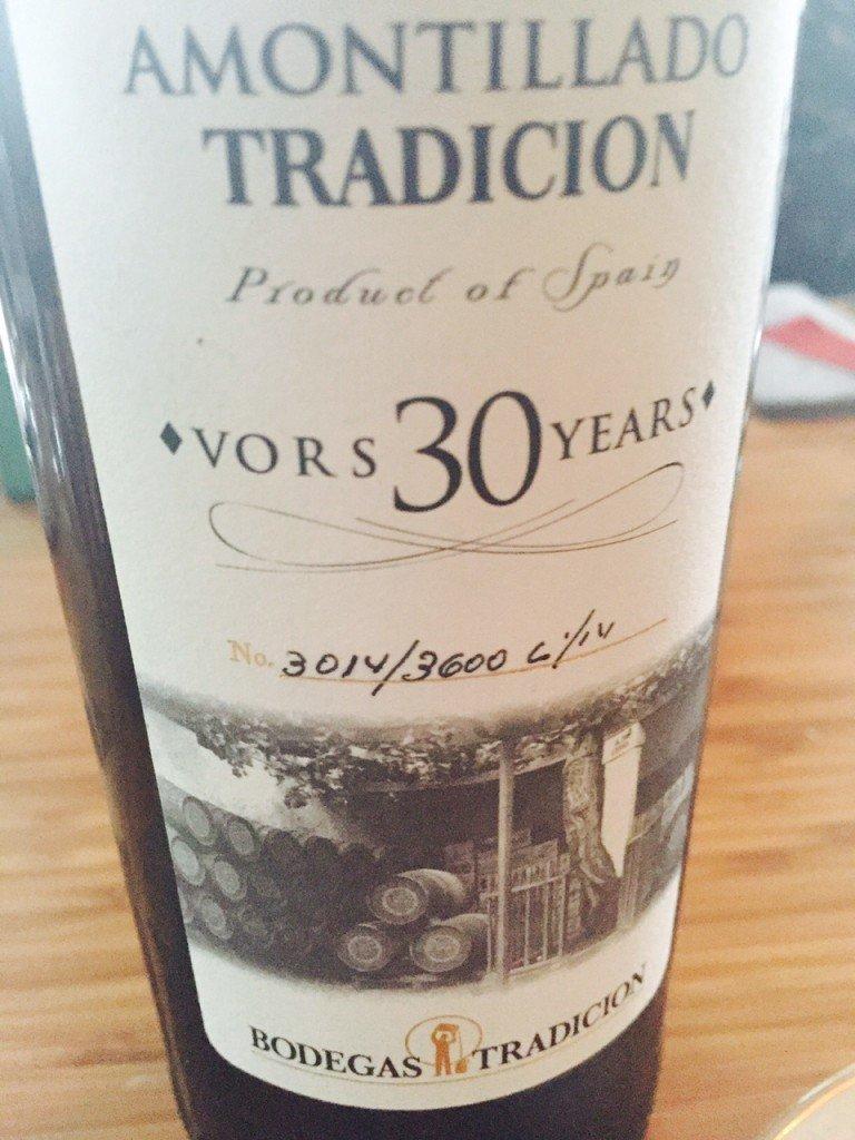 30 jaar oude droge sherry foodblog Foodinista