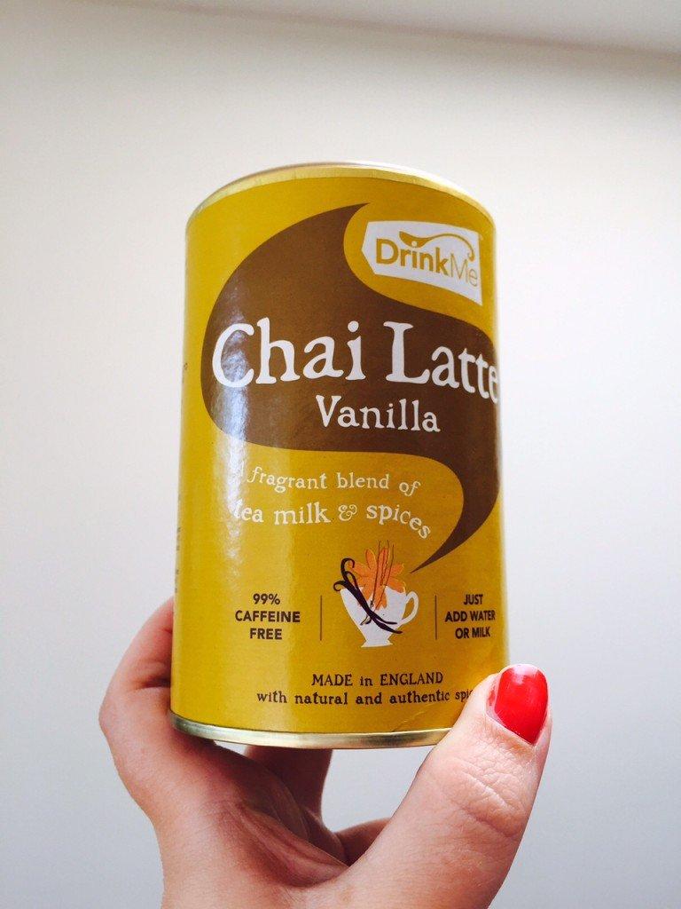 Chai Latte foodpost Oktober eetdagboek Foodblog Foodinista