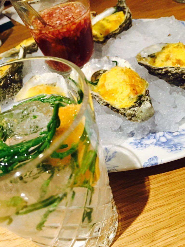 Gin Tonic en oesters horecava 2016 kick-off