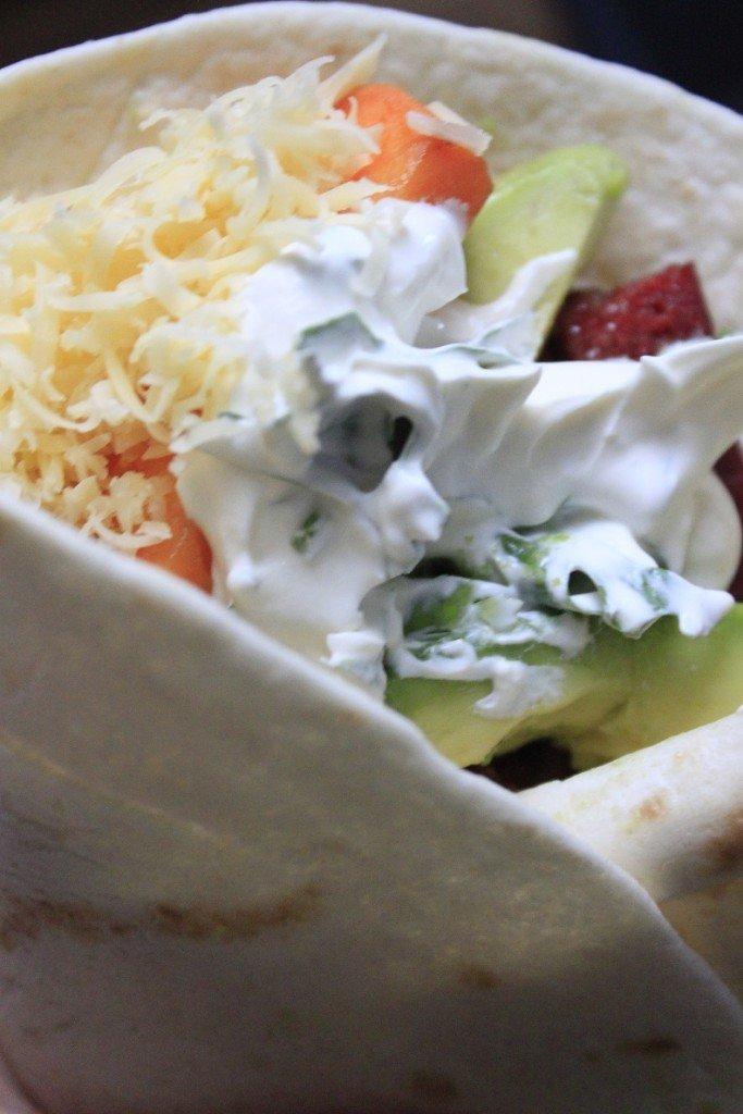Zoete aardappel chorizo tortilla recept foodblog Foodinista