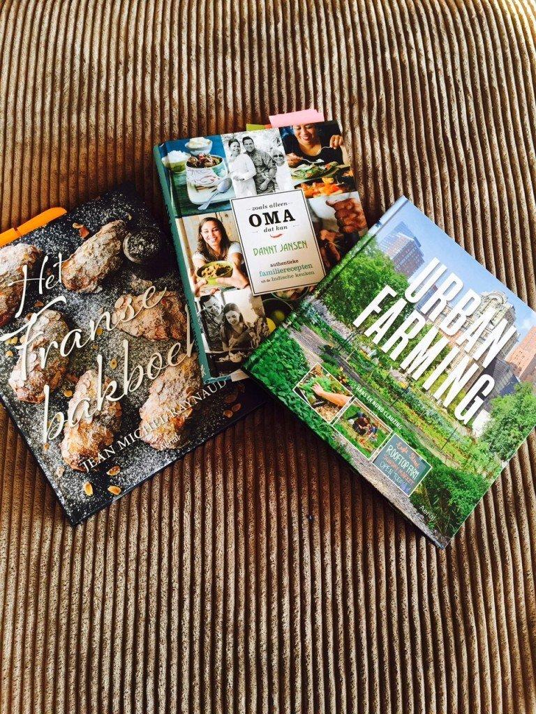 Nieuwe kookboeken bakboek, urban farming en danny jansen indonesische keuken foodblog Foodinista