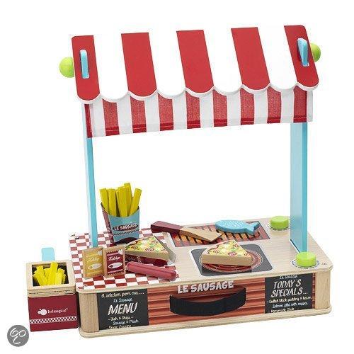 Houten marktkraam speelgoed sinterklaas cadeau tips foodblog Foodinista