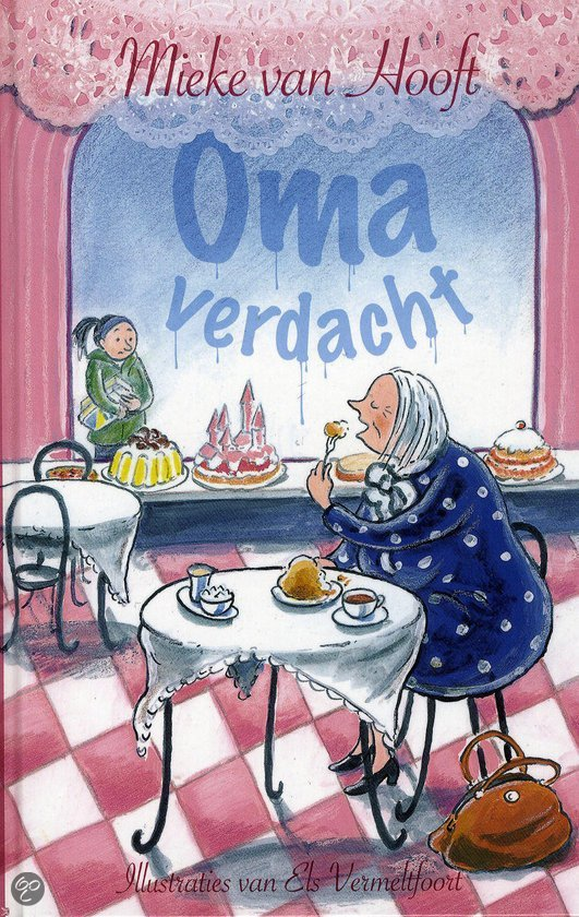 Oma verdacht kinderboek schoencadeautje favoriet mamablogger foodinista