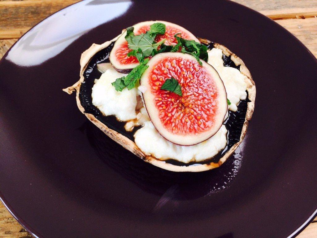 gevulde paddenstoelen recept met vijgen en geitenkaas ovenrecept receptblog Foodinista