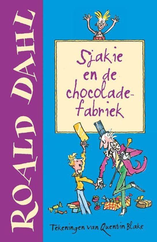 Favoriet kinderboek chocolade Sjakie en de chocoladefabriek mamablogger Foodinista sinterklaascadeautjes