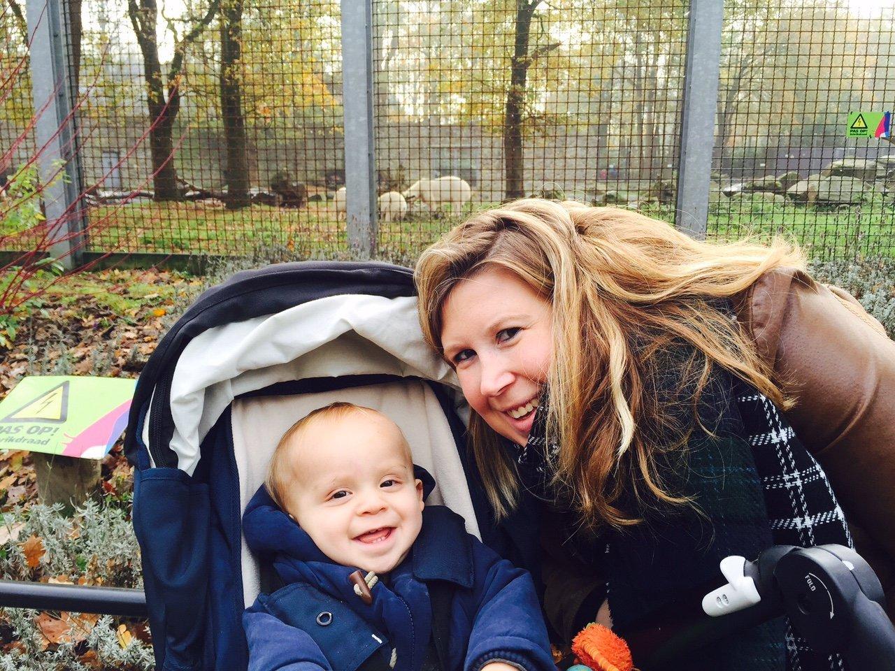 Eerste keer Dierentuin november dagboek mamablogger Foodinista