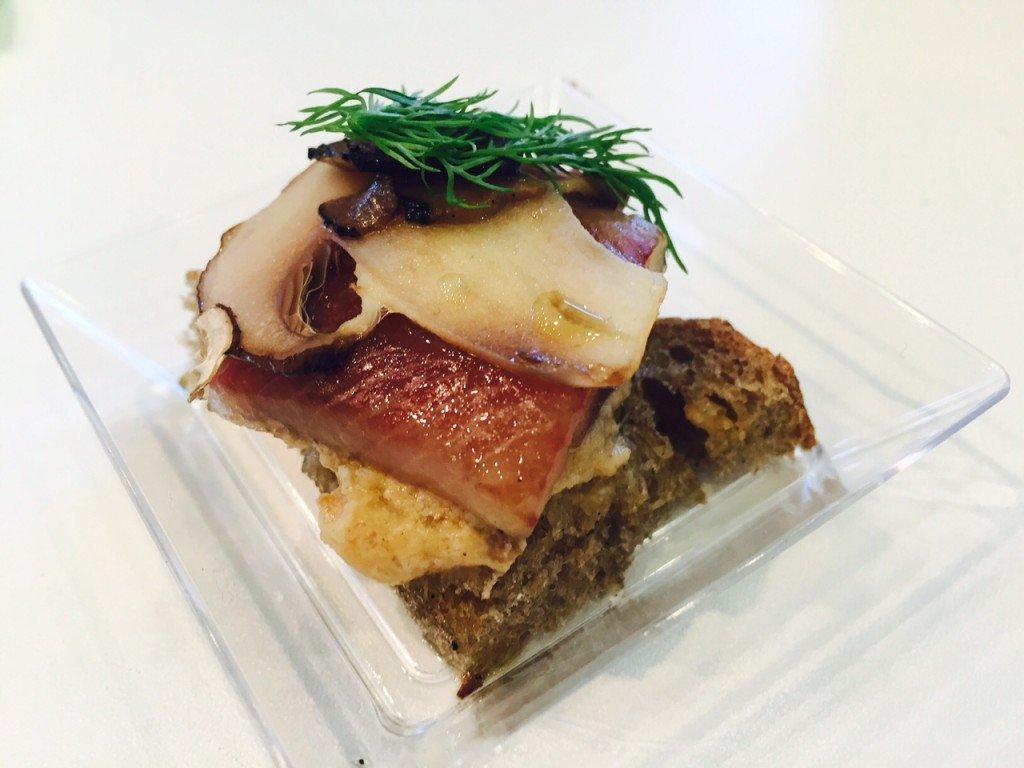 Truffel met haring Eetagenda november foodblog Foodinista