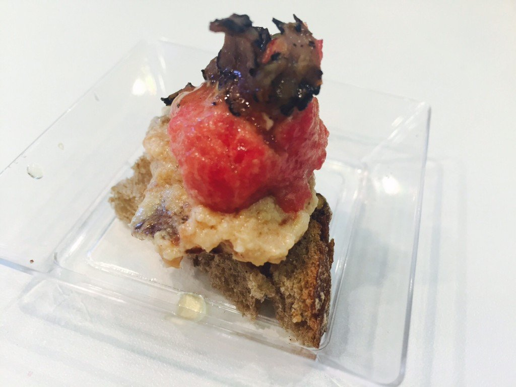 Truffel met tartaar bellavita beurs RAI Amsterdam Italiaanse delicatessen foodblog Foodinista