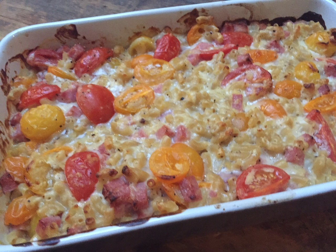 Ham kaas macaroni ovenschotel recept foodblog Foodinista