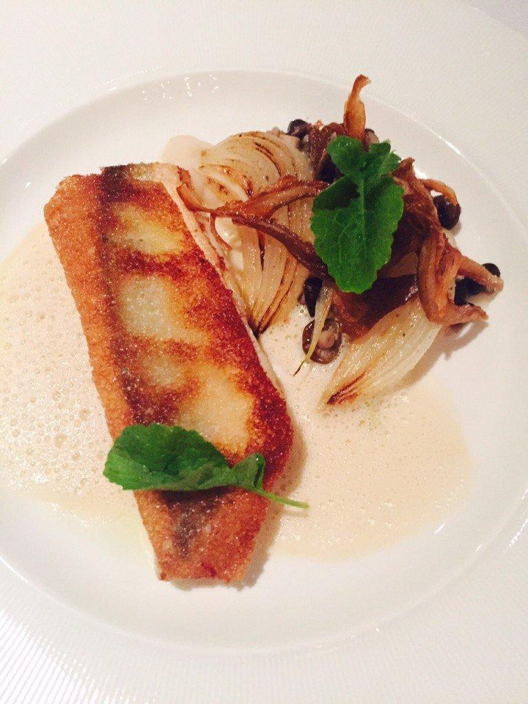 Met brood gebakken poon luxe fish and chips Cottontree Mer Scheveningen