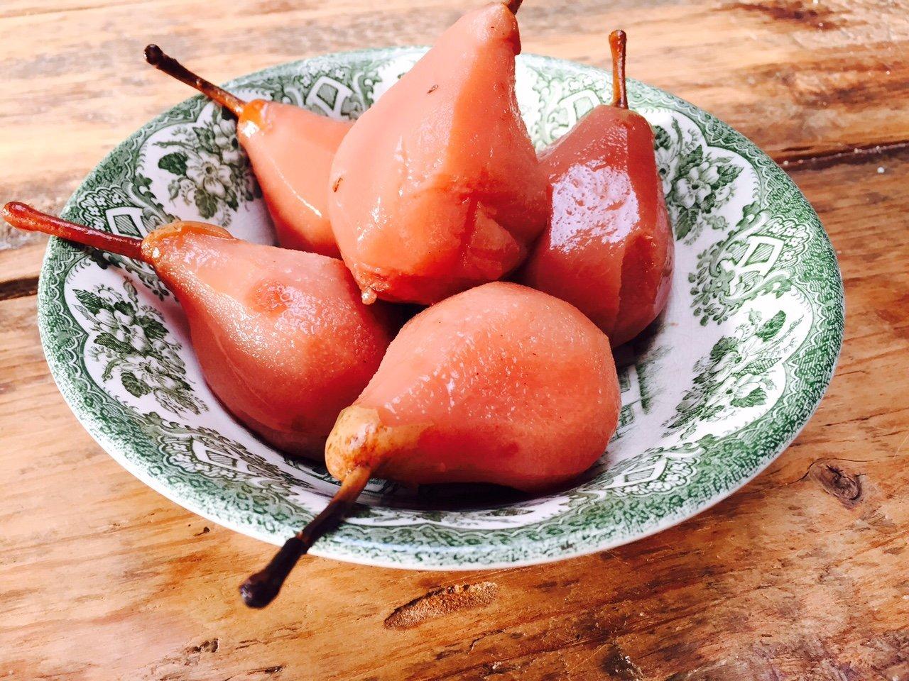 Stoofpeertjes recept zonder suiker foodblog Foodinista