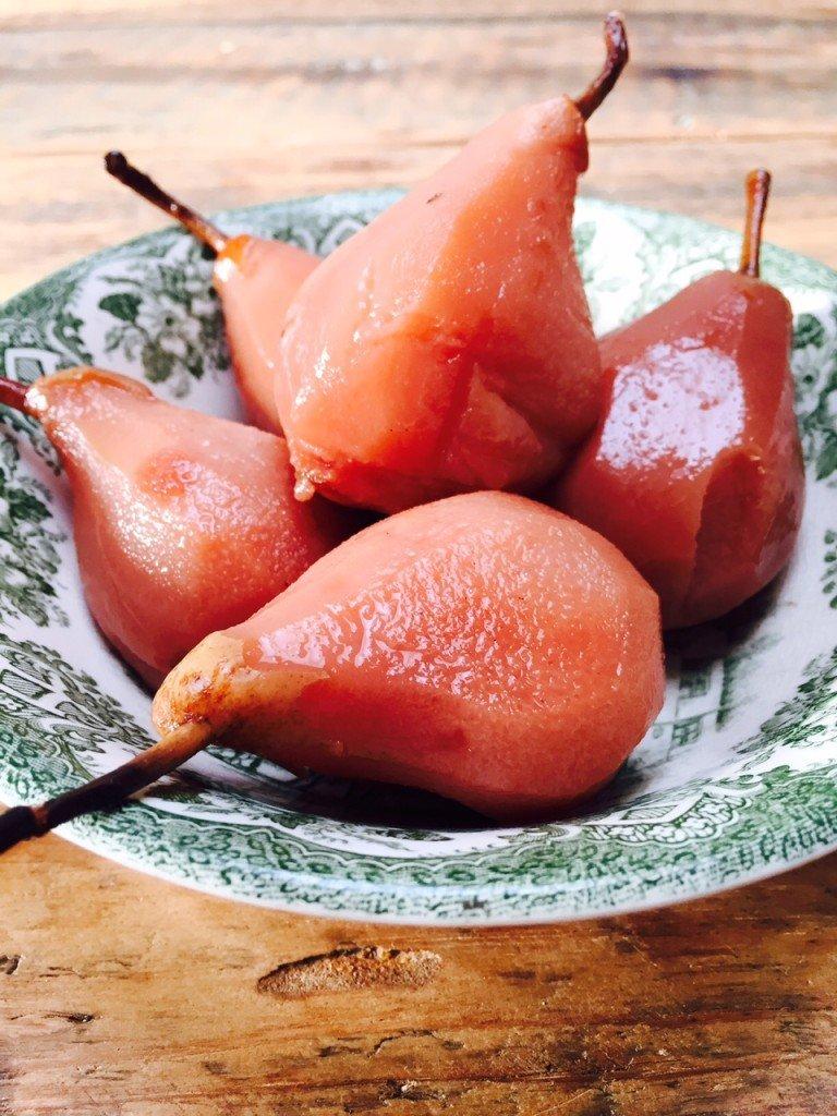 Recept voor stoofpeertjes receptblog Foodinista