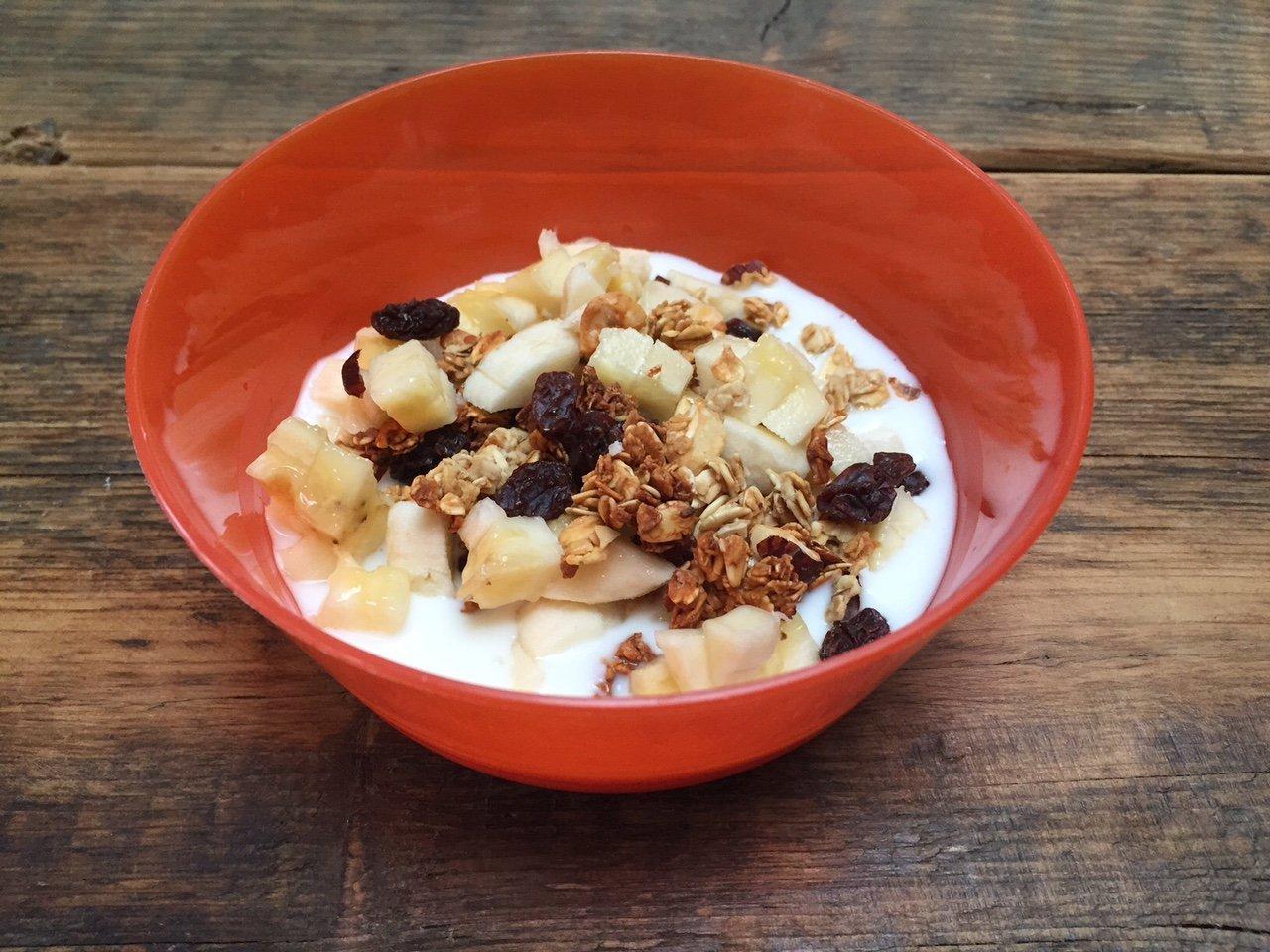 Granola voor je baby maken recept Foodblog Foodinista mama blogt