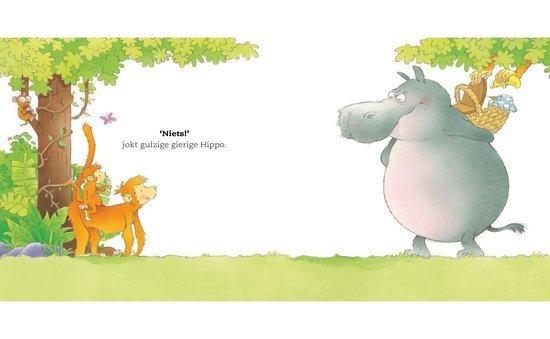 Win een kinderboek gulzige gierige hippo kidsmaand foodblog Foodinista loves kids