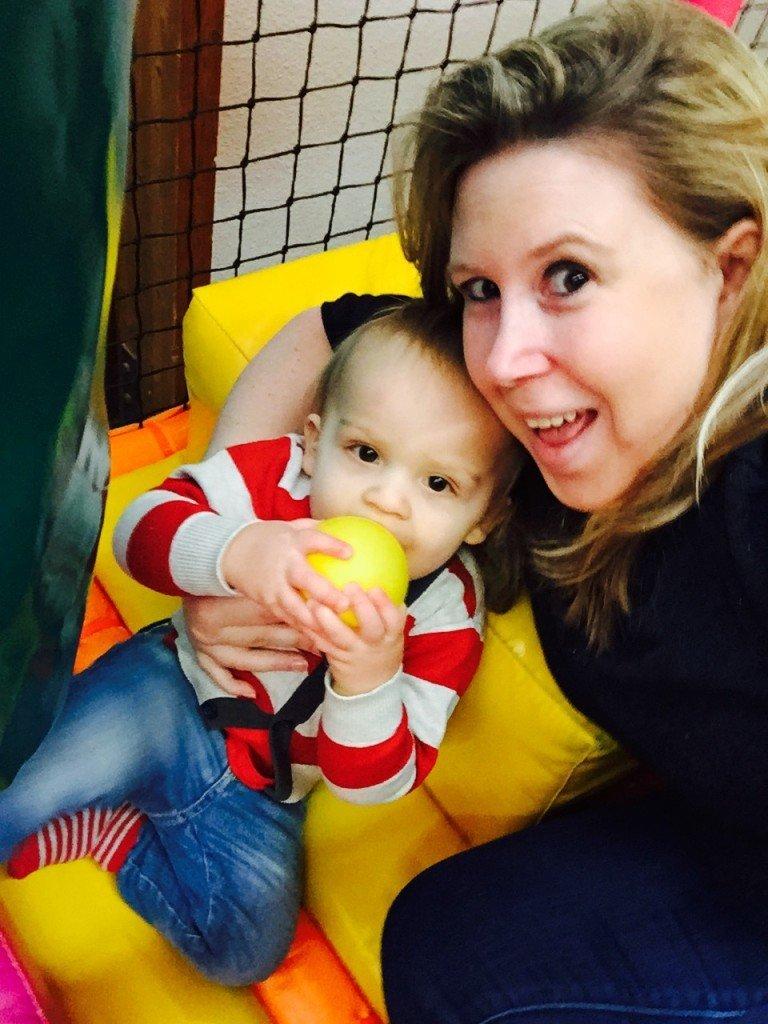 Spelen bij Monkeytown met Mama mamablogger