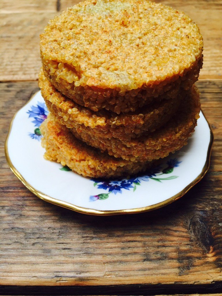 Quinoakoekjes recept van receptblog Foodinista