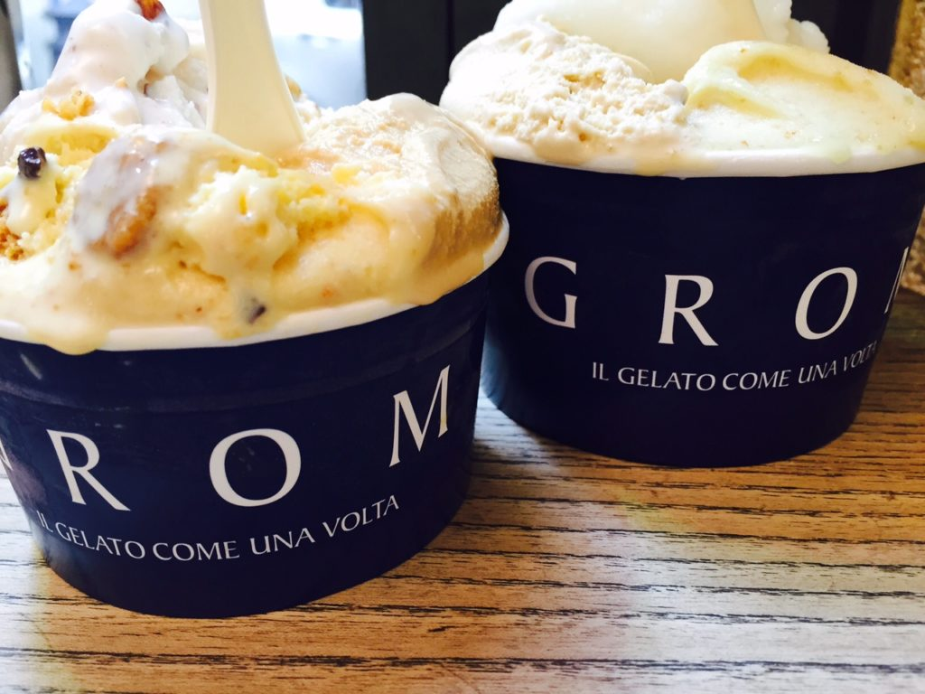 Foodie in Florence gelato bij Grom