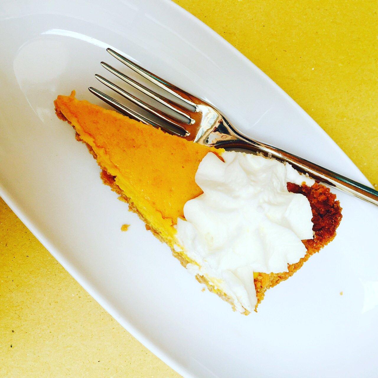 Eetzondes in Italië taart bij koffie foodblog Foodinista