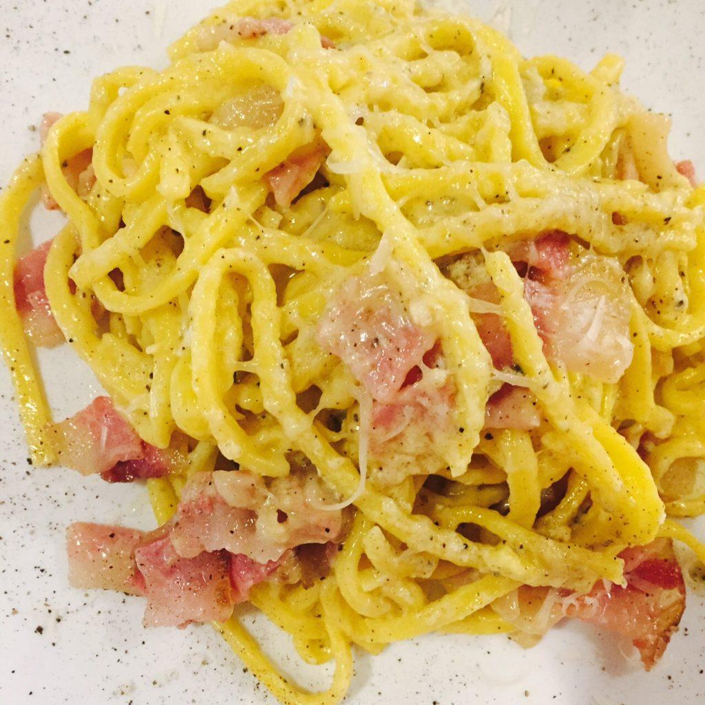 Pasta carbonara in Toscane mijn inspiratie voor de klassieke pasta carbonara