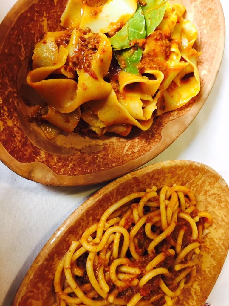 Italiaanse pasta met Ragu