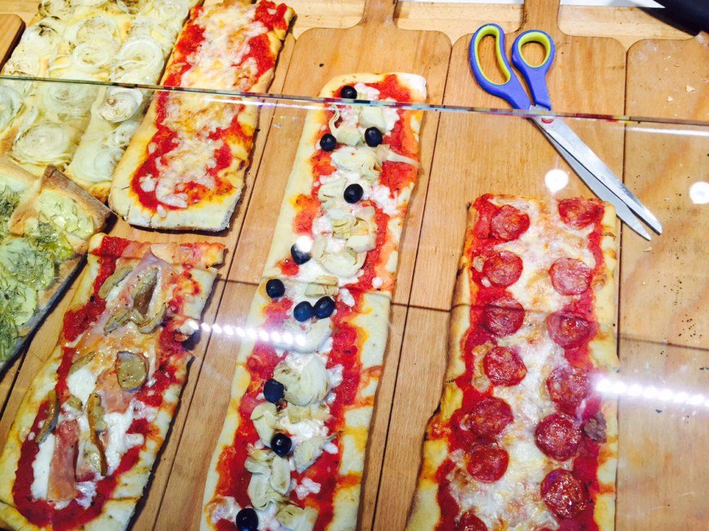 Pizzapunten bij Savini in Florence foodie in Florence de tips van Foodblog Foodinista
