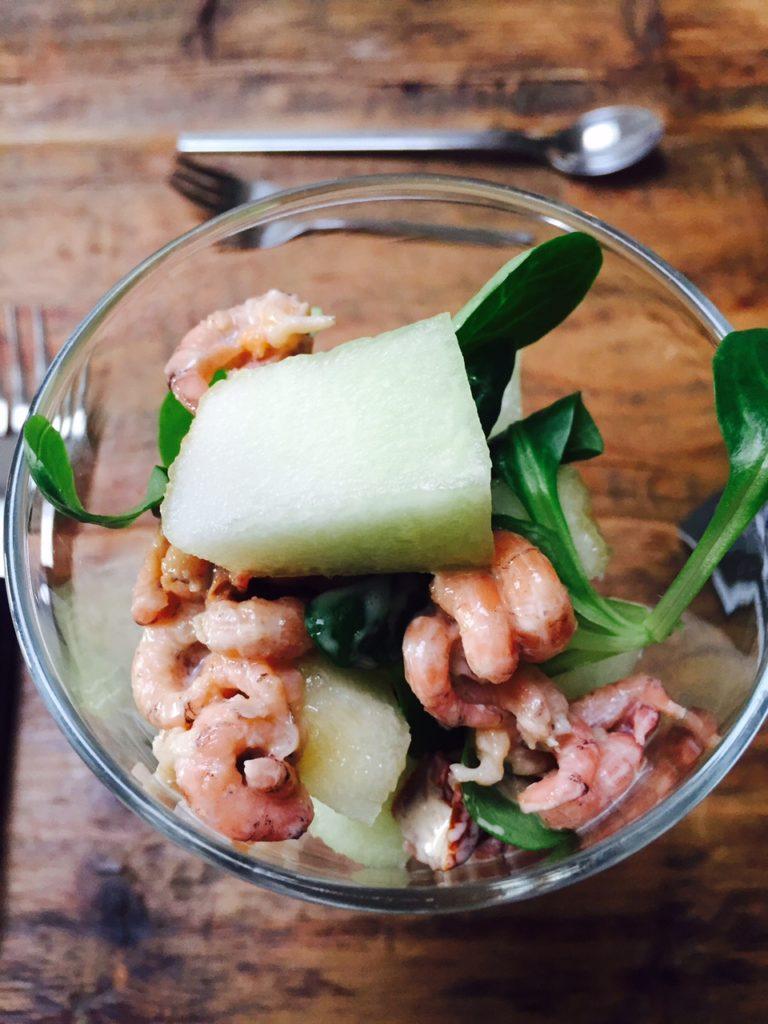 Garnalencocktail met limoncello en meloen recept van foodblog Foodinista