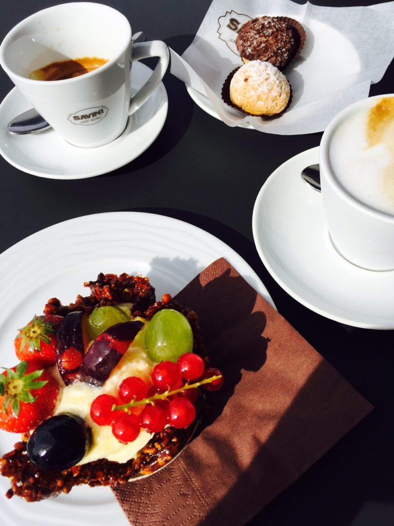 Koffie en pattisserie bij Savini in Florence foodie in Florence de tips van Foodblog Foodinista