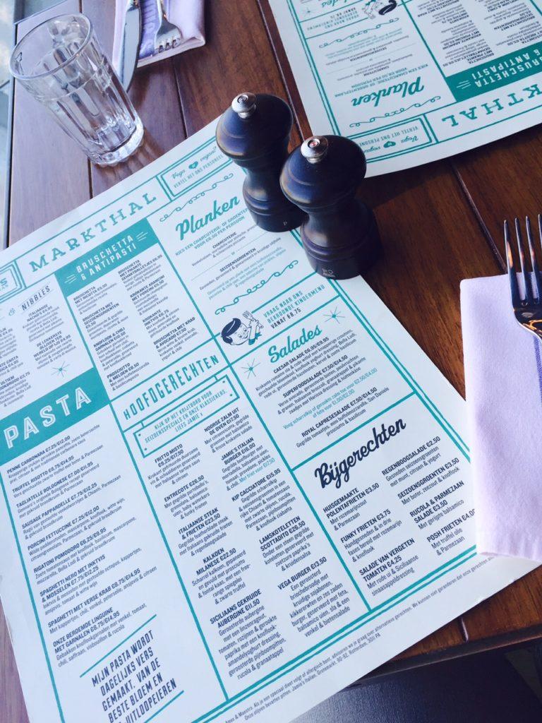 Lunchen bij Jamie Oliver in Rotterdam restaurant ervaring Foodblog Foodinista Nieuwe Menu voorjaar 2016