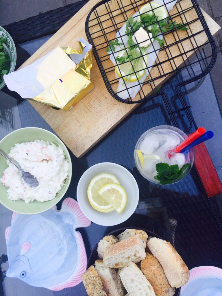 Barbecueën met schol foodblog Foodinista