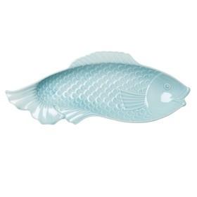 Blauwe vis schaal voor vis shoptips foodblog Foodinista