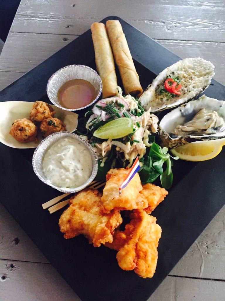 Eetdagboek April Foodblog Foodinista Foodhal88 in Tilburg Vis van Bakboord met Aziatische smaken