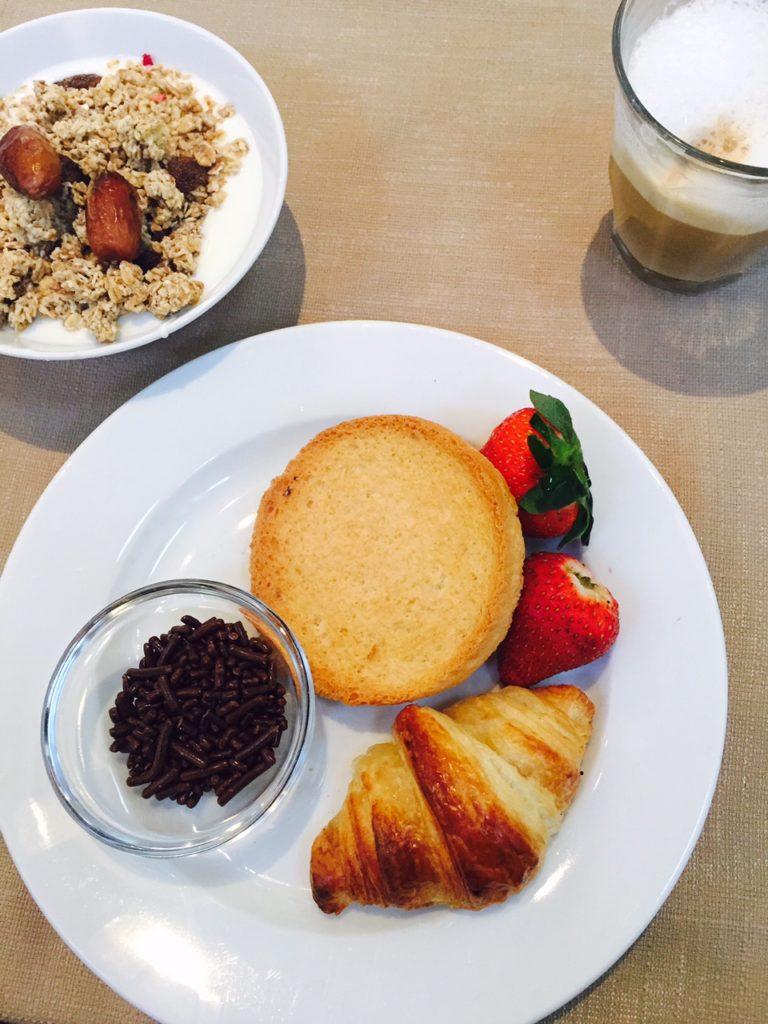 Eetdagboek april ontbijt bij het Dis hotel
