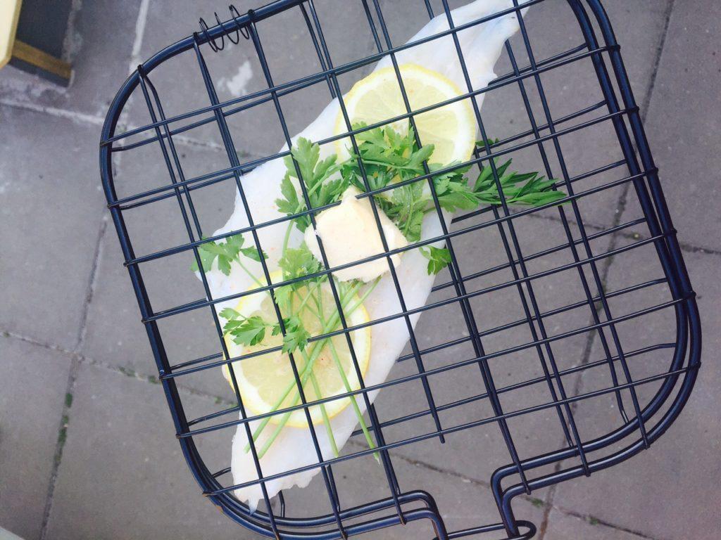 Schol op de barbecue recept foodblog Foodinista