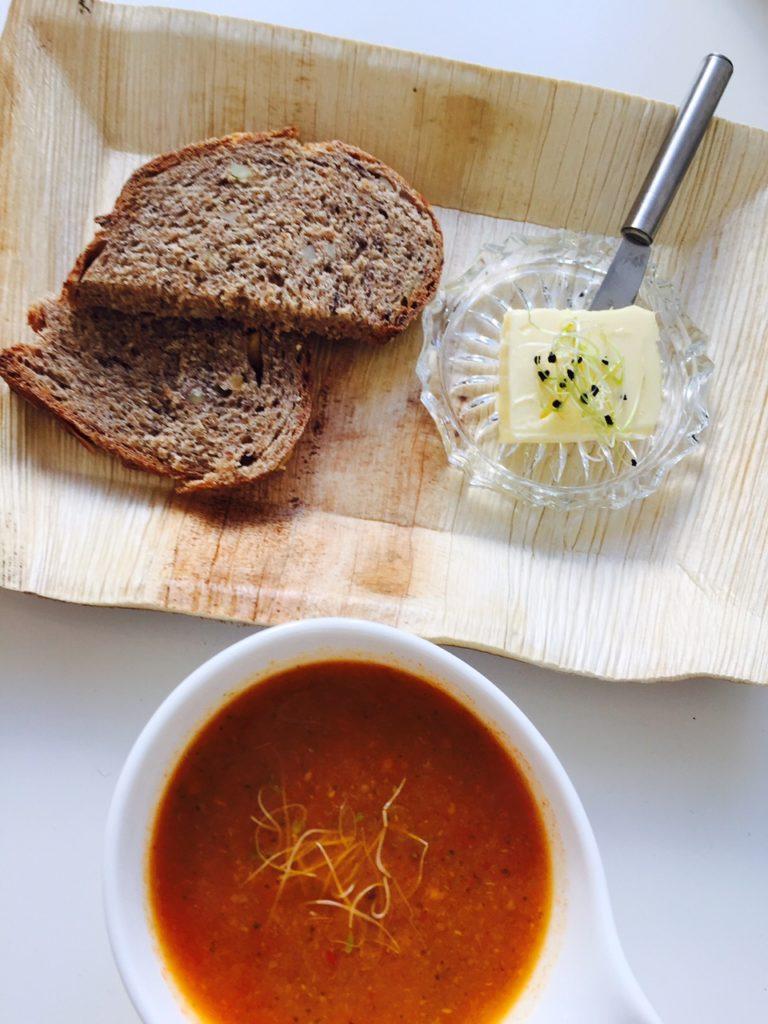 Soep en huisgebakken brood