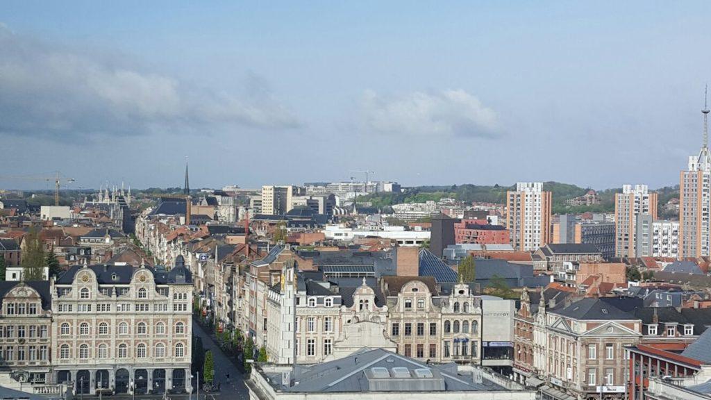 Uitzicht Op Leuven vanuit Radisson Park Inn